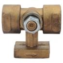 Кран для манометра 11б38бк/11б18бк M20х1,5 3-ход с контрольным фл ПАЗ