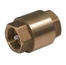 Клапан обратный латунь Ду 20 пружинный