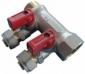 Коллектор для мп латунь Faro никель STC