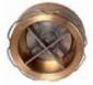 Клапан обратный латунь 172-01 Ру16 межфл VYC