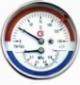 Термоманометр осевой ТМТБр 120C Росма