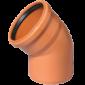 Труба коричневый НПВХ