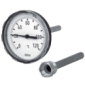 Термометр биметаллический А5000 160C Wika