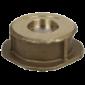 Клапан обратный латунь CA7441 Ру16 межфл Tecofi