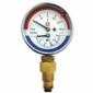 Термоманометр радиальный ТМТБр 120C Росма