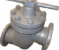 Клапан запорн сталь 14с17п фл