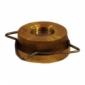 Клапан обратный латунь RK41 Ру16 межфл Gestra