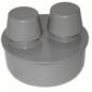 Клапан вакуумный серый РосТурПласт
